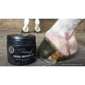 Ecohoof Pink Hoof Clay in Unknown
