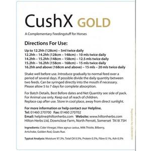 Hilton Herbs Cush X Gold - 1 litre