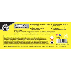 Lincoln Antibacterial Green Gel -  400 g