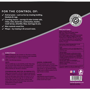 Lincoln Insecticidal Lice Control Powder Plus -  750 g