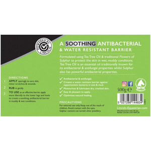 Lincoln Tea Tree Oil Ointment 500g