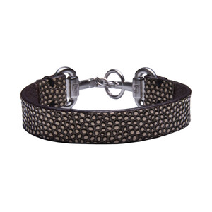 Noble Outfitters Snaffle Bit Bracelet - White in White