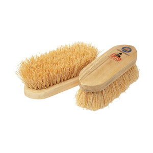 Vale Brothers Equerry Wooden Dandy Brush - Mexican Whisk Fibre in Natural