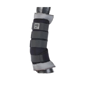 Hy Equestrian HyIMPACT Stable Protection Boot - Black with Grey Lining