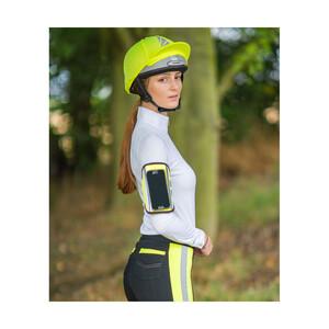 Hy Equestrian HyViz Relector Phone & Key Holder - Yellow in Yellow