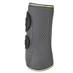 LeMieux Carbon Mesh Wrap Boots - Antracite/Citron