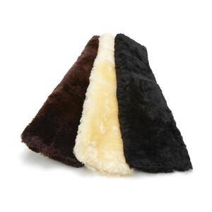 LeMieux Lambskin Slip On Dressage Girth Sleeves in Black