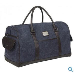 LeMieux Luxury Canvas Duffle Bag - Grey in Navy