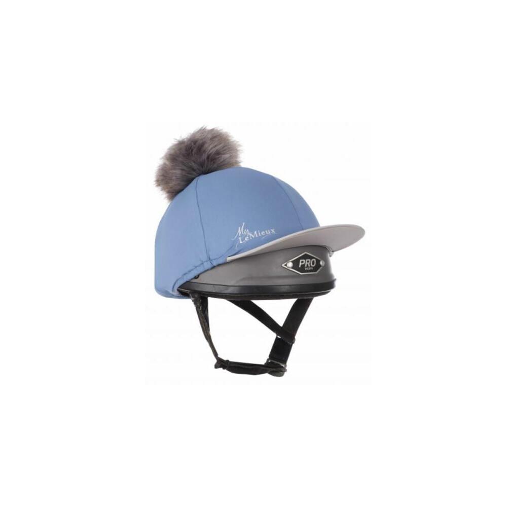 LeMieux Pom- Pom Hat Silk - Ice Blue in Ice Blue