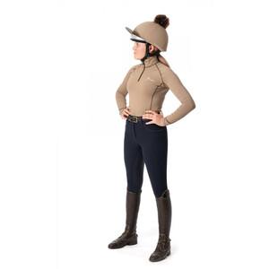 LeMieux Pom Pom Hat Silk - Mink in Mink