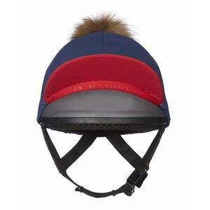 LeMieux Pom Pom Hat Silk - Navy