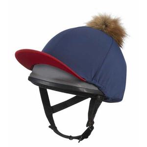 LeMieux Pom Pom Hat Silk - Navy in Navy