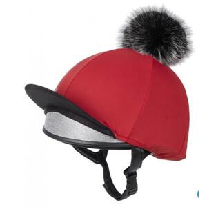 LeMieux Pom Pom Hat Silk Chilli
