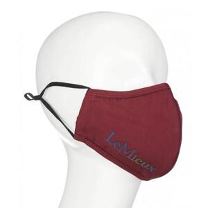 LeMieux Reusable Face Mask - Burgundy