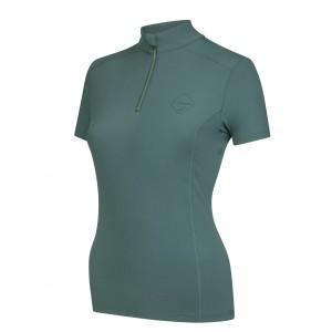 LeMieux Activewear Short Sleeve Base Layer  - Sage
