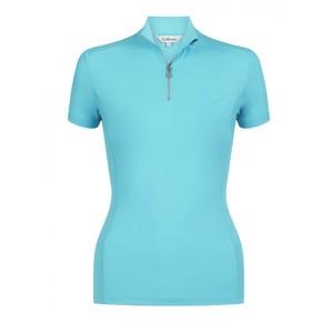 LeMieux Activewear Short Sleeve Base Layer - Azure