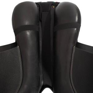 Acavallo Gel In seat Saver Black Large in Black