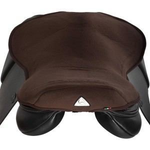 Acavallo Gel In Seat Saver Brown Large in Brown