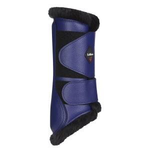 LeMieux Fleece Lined Brushing Boots - Ink Blue