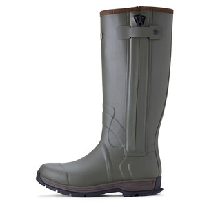 Ariat Mens Burford Insulated Zip Rubber Boot - Olive Night