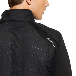 Ariat Mens Hybrid Insulated Water Resistant Jacket Black