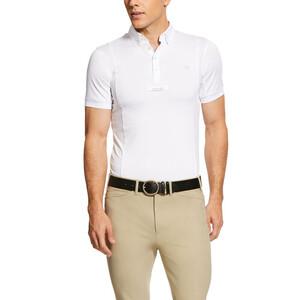 Ariat Mens Tek Show Shirt White