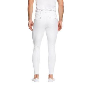 Ariat Mens Tri Factor Grip Knee Patch  Breech White