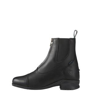 Ariat WMS Heritage IV Zip H2o Black in Black