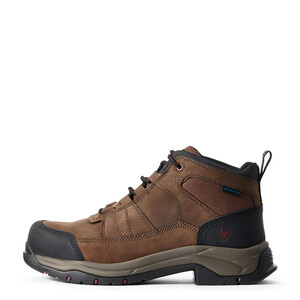Ariat WMS Telluride Work H2O Composite Toe Work Boot- Distressed Brown