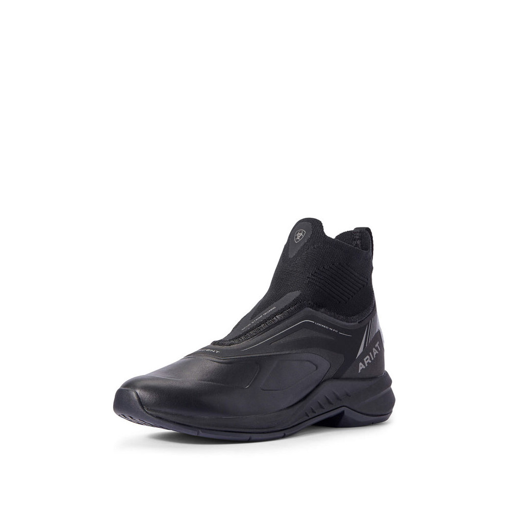 Ariat Womens Ascent Boot - Black in Black