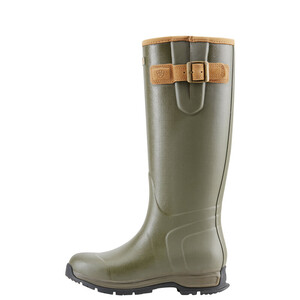 Ariat Womens Burford Waterproof Rubber Boot - Olive Green