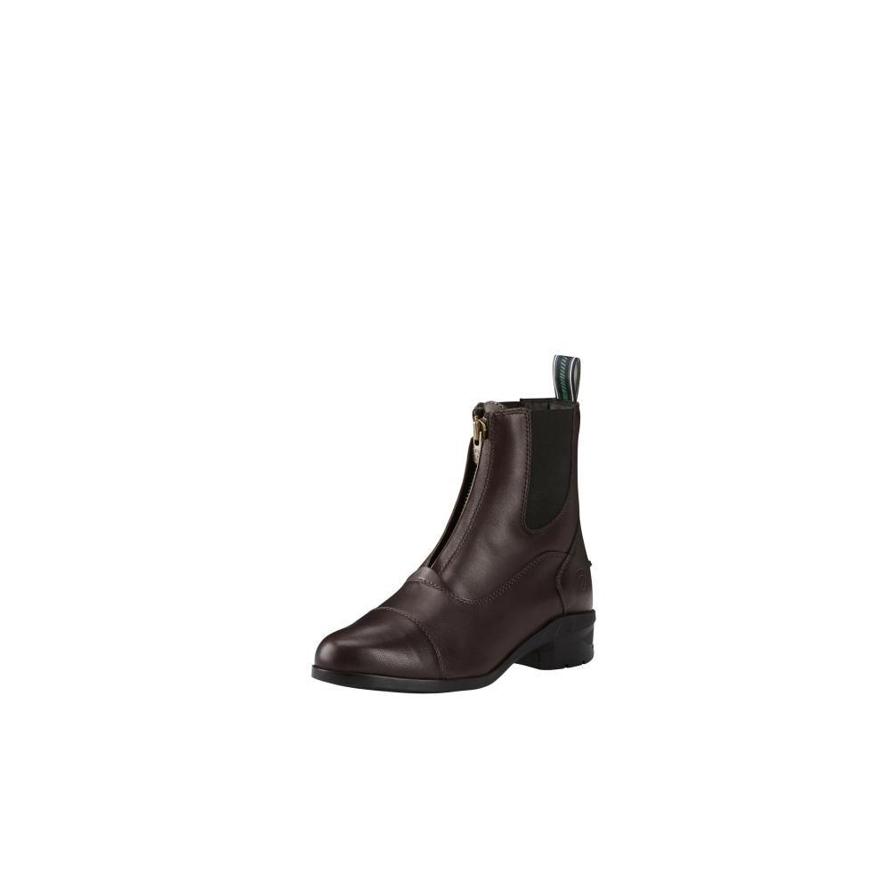 Ariat Womens Heritage IV Zip Paddock Boot Light Brown in Brown