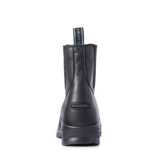 Ariat Womens Heritage IV Zip Steel Toe - Black