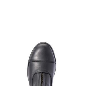 Ariat Womens Heritage IV Zip Steel Toe - Black in Black