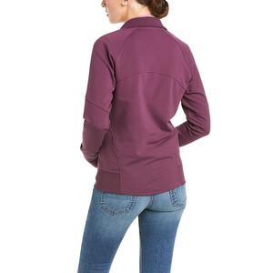 Ariat Womens Largo Full Zip Sweatshirt Italian Plum