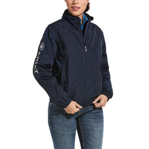 Ariat Womens Stable Team Jacket - Navy in Navy