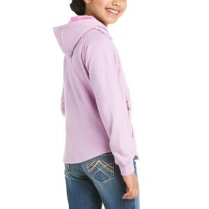 Ariat Youth 3D Logo Hood - Violet Tulle in Violet Tulle