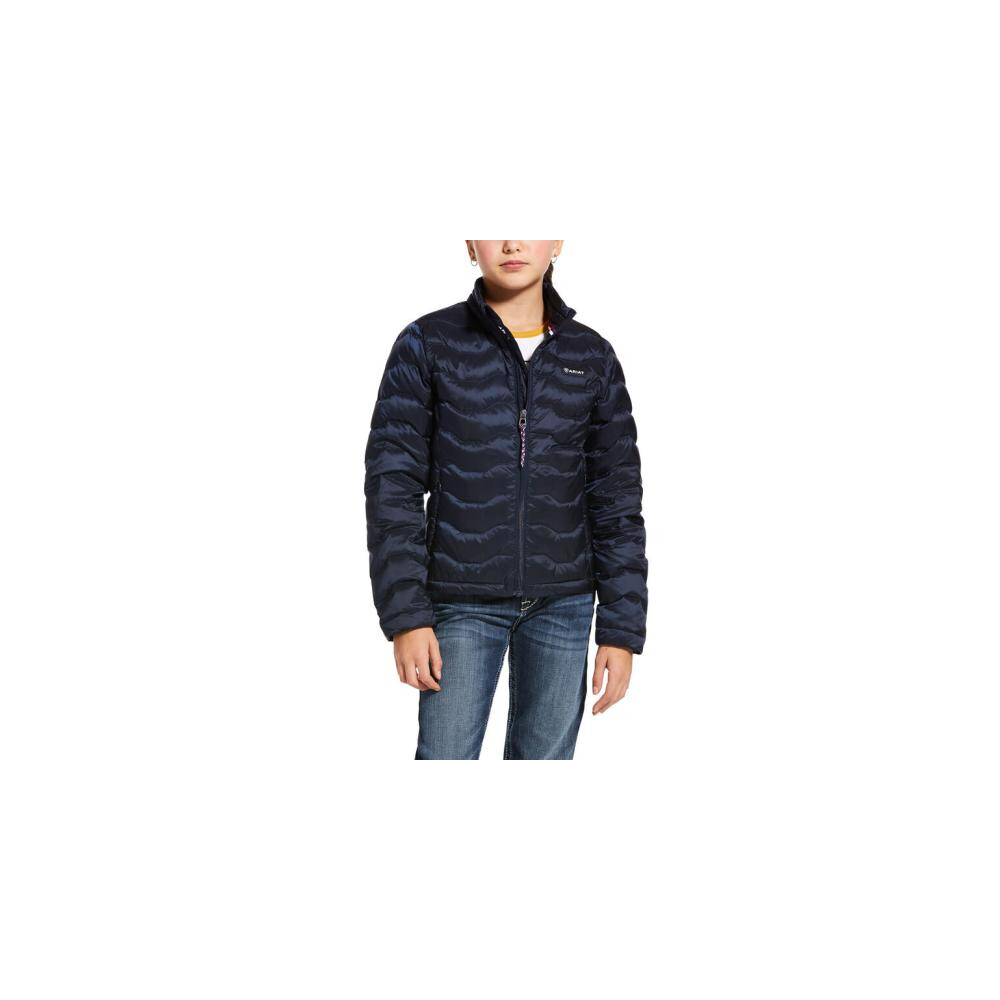 Ariat Youth Ideal 3.0 Down Jacket Navy in Navy