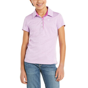 Ariat Youth Laguna Polo Violet Tulle in Violet Tulle
