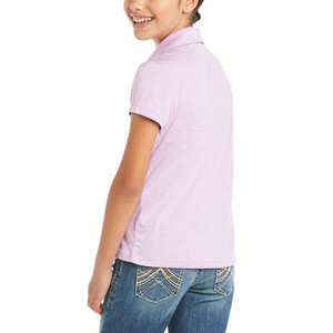 Ariat Youth Laguna Polo Violet Tulle