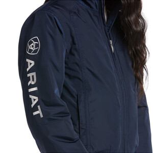 Ariat Youth Stable Insulated Jacket Navy in Navy