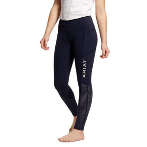 Ariat Youths Eos Knee Patch Tight Navy in Navy