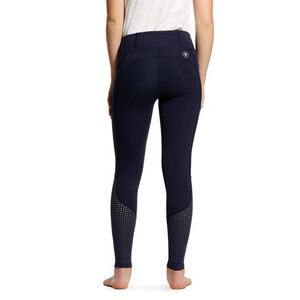 Ariat Youths Eos Knee Patch Tight Navy