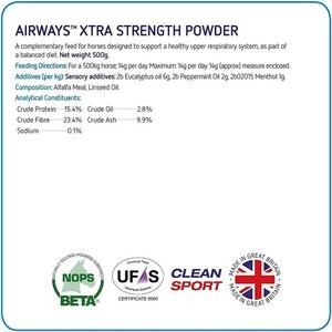 Equine America Airways Xtra Powder - 500g