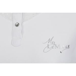 LeMieux Amelie Diamante Show Shirt White