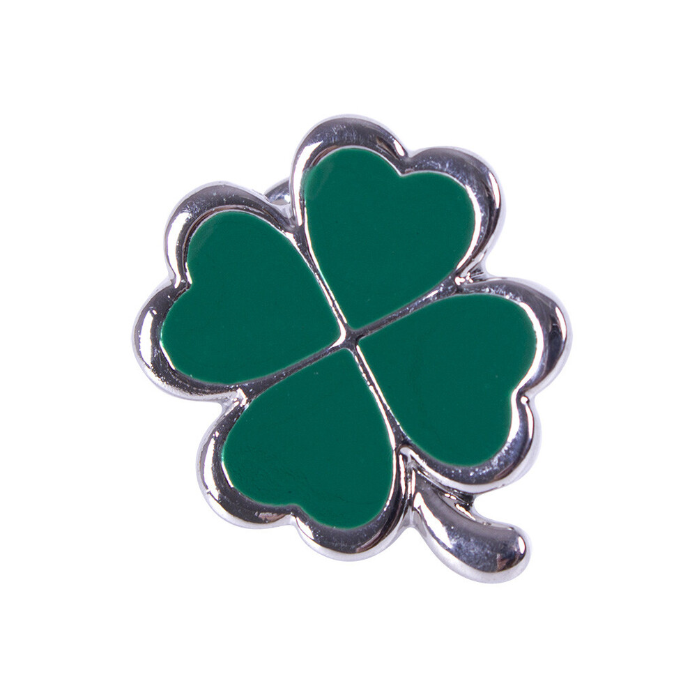 QHP Lapel pin Lucky Green in Green