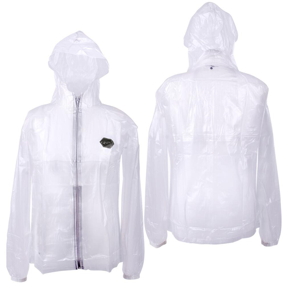 QHP Raincoat Transparant - Adult in Transparent