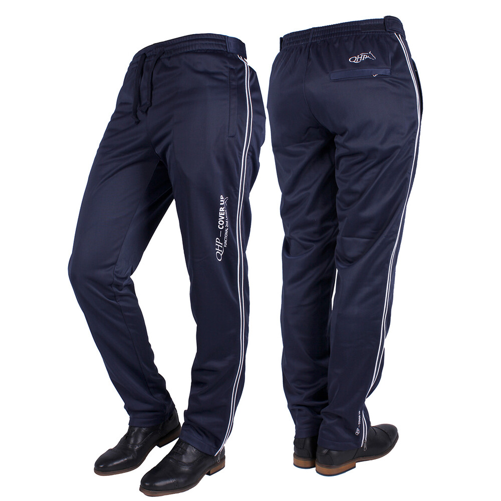 QHP Training pants Cover Up Navy - Childs in Navy