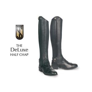 Tredstep Deluxe Half Chap Sizes in Black