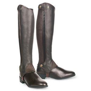 Tredstep Deluxe Half Chap Sizes in Brown